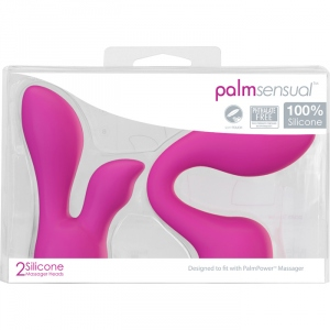 Palm Sensual Accessories 2 Silicone Heads