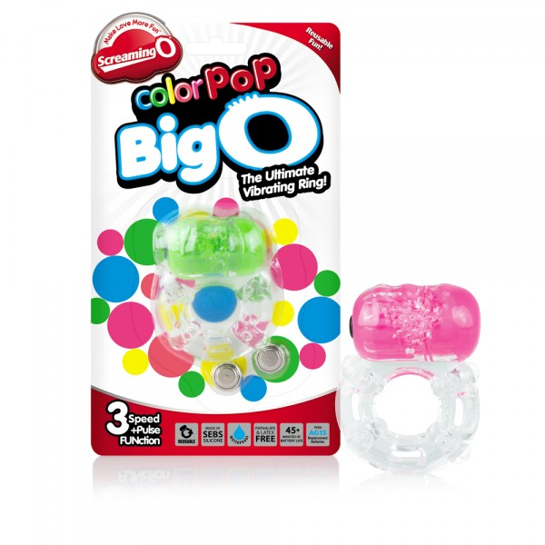 Color Pop Neon Colors Big O 6pc