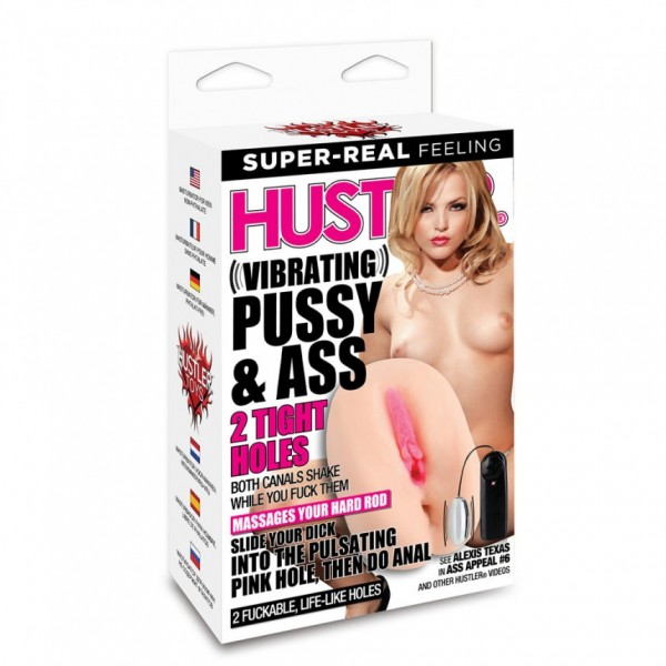 Hustler Alexis Texas Vibrating Pussy & Ass