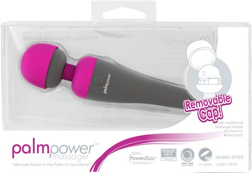 Palm Power Massager Fuschia