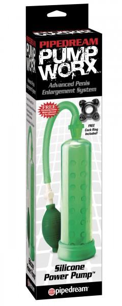 Pump Worx Silicone Pump Green
