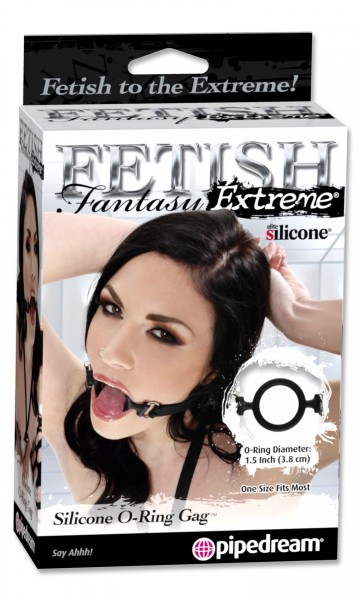 Fetish Fantasy Silicone O Ring Gag