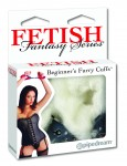 Fetish Fantasy Furry Cuffs White