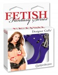 Fetish Fantasy Purple Metal Cuffs