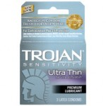Trojan Ultra Thin Lube 3pk