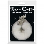 Love Cuffs Plush White