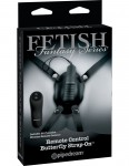 Fetish Fantasy Remote Butterfly Strap-on
