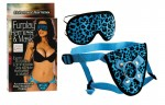 Furplay Harness & Mask Blue