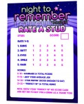 Stud Rating Card