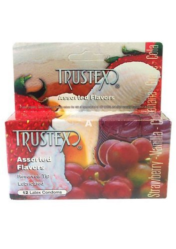Trustex Assorted Flavor 12 Pack